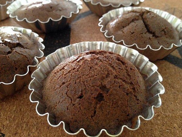 海洋之泪做的巧克力熔岩蛋糕的做法_豆果美食