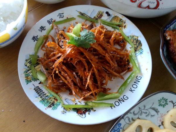 拌明太鱼丝---延边美食第一菜