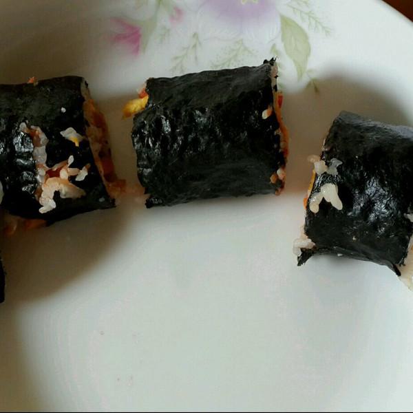 调情小做的寿司的做法