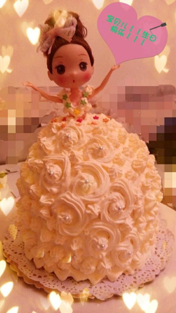 涵涵妈妈0105的娃娃蛋糕做法的学习成果照