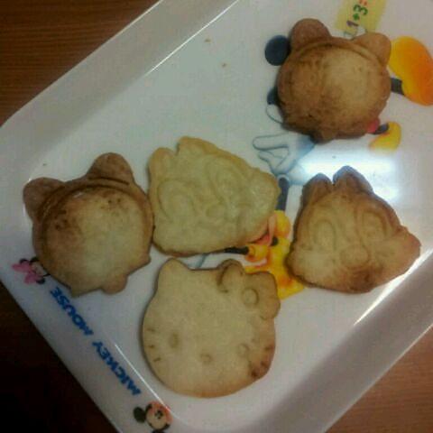 简单快速零失败的超可爱的造型奶香苏打饼干的做法