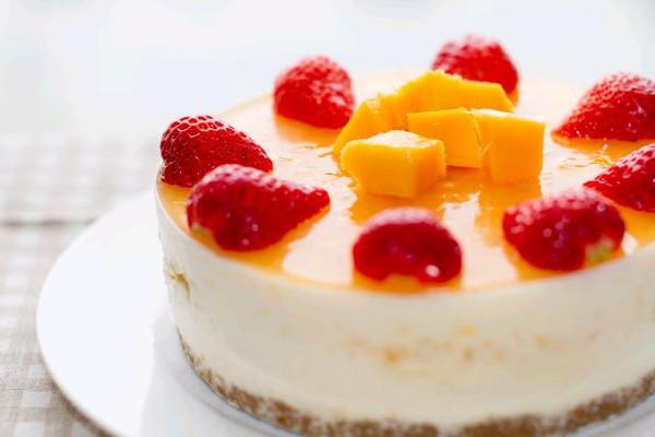 旭29的芒果慕斯蛋糕六寸做法的学习成果照