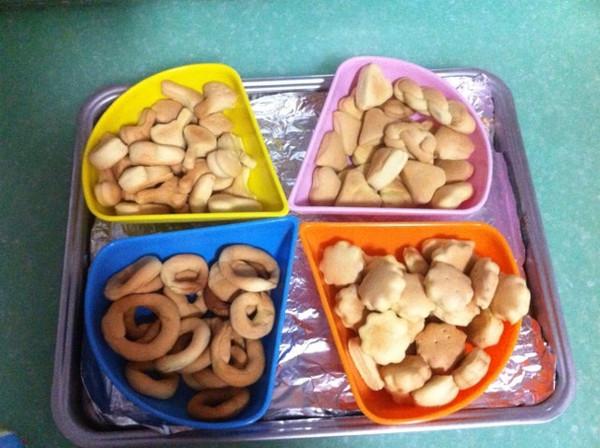 各种形状饼干