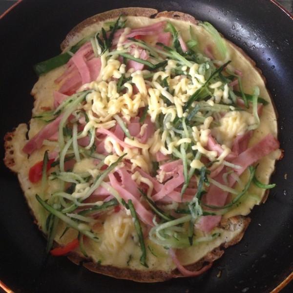 早餐披萨的做法图片