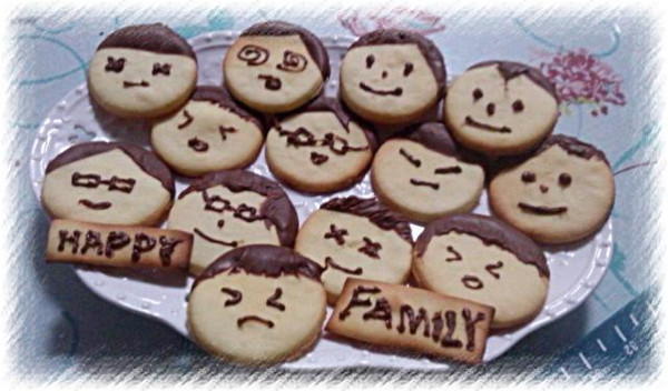 花开一季2013做的娃娃饼干的做法