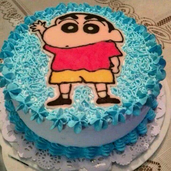 蜡笔小新蛋糕