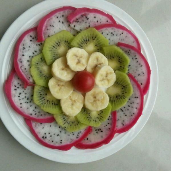 简单点的水果拼盘做法