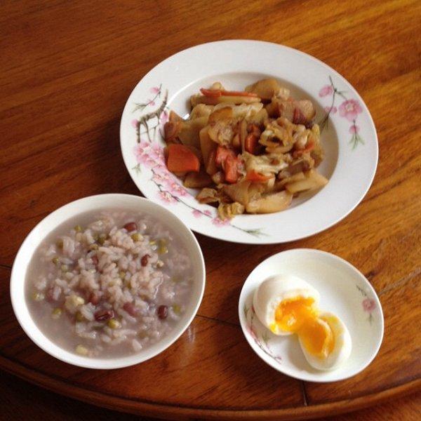 营养早餐的做法图片