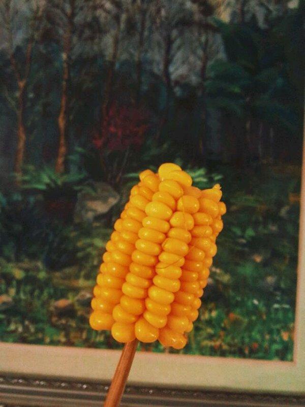 兔子逸做的奶油玉米棒的做法