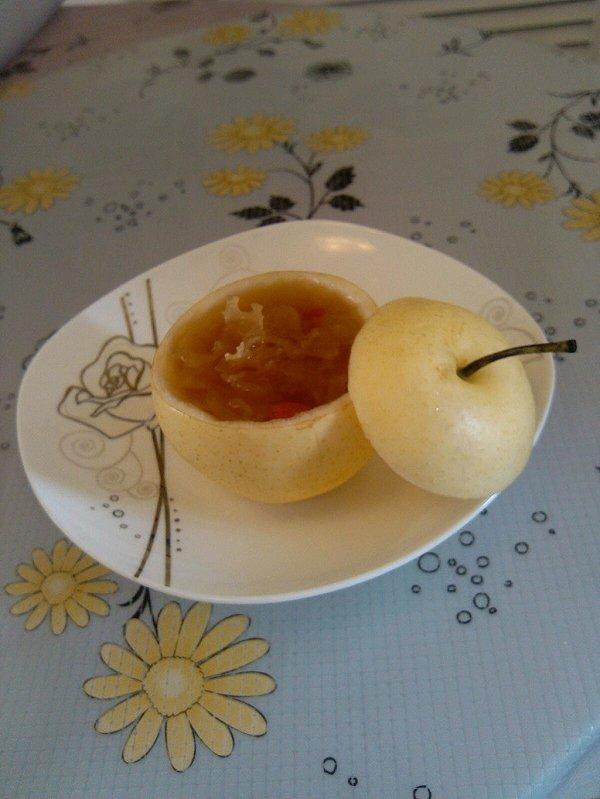 可爱的梨,美味的汤,美好的生活