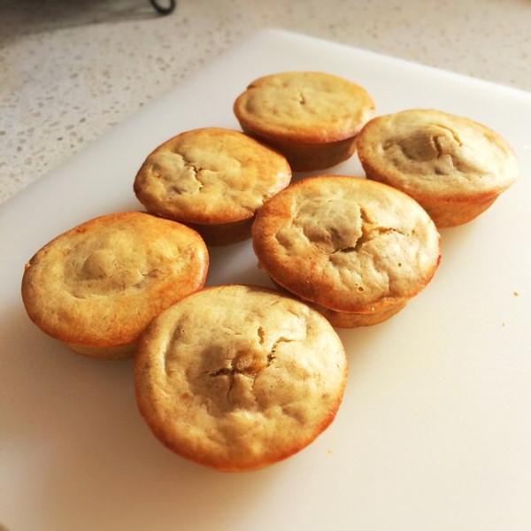 小猴子学做菜的自制香蕉蛋糕做法的学习成果照