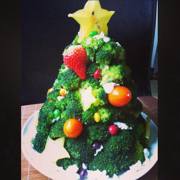 暖暖aliao做的圣诞树的做法_豆果美食