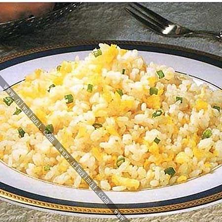 鸡蛋普通炒米饭