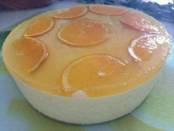 香橙慕斯的做法_香橙慕斯蛋糕的做法