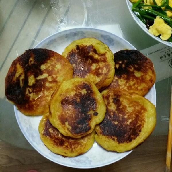 漠漠淡水鱼做的地瓜饼的做法