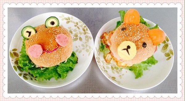 遗失微笑的猫做的可爱的卡通蛋堡的做法