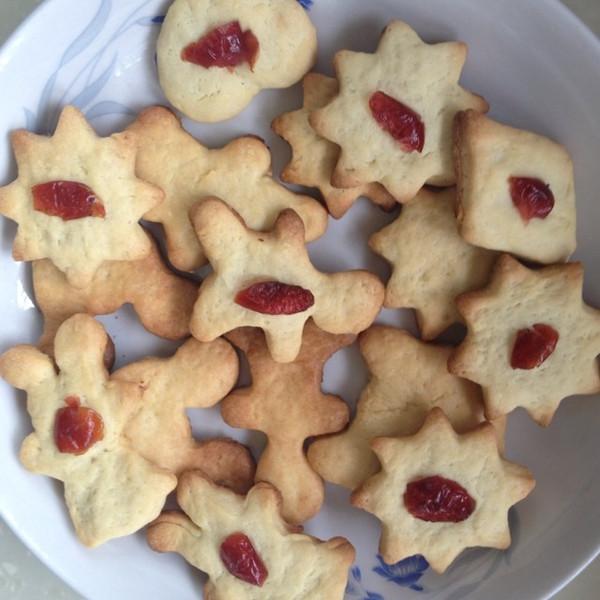 牡啊牡丹花做的可爱造型饼干的做法