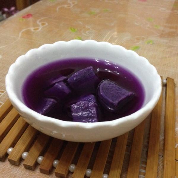 拂晓的铃声做的紫薯糖水的做法
