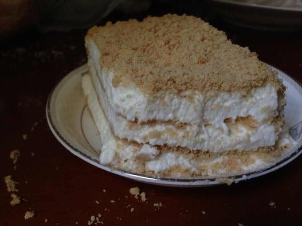 好酒无量做的木糠蛋糕的做法
