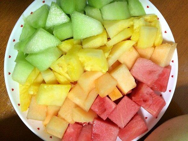 蜜糖唲的简单水果拼盘做法的学习成果照 豆果美食