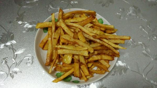 薯条制作全过程