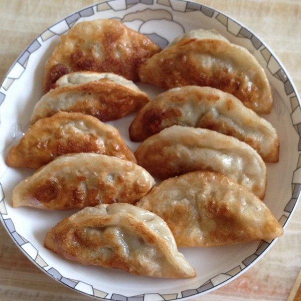 白菜猪肉煎饺,锅贴(内涵饺子馅做法)