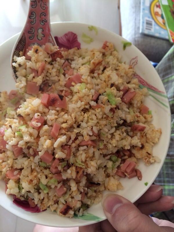 做美食煮妇做的黄金蛋炒饭 全蛋预拌法 的做法 豆果美食