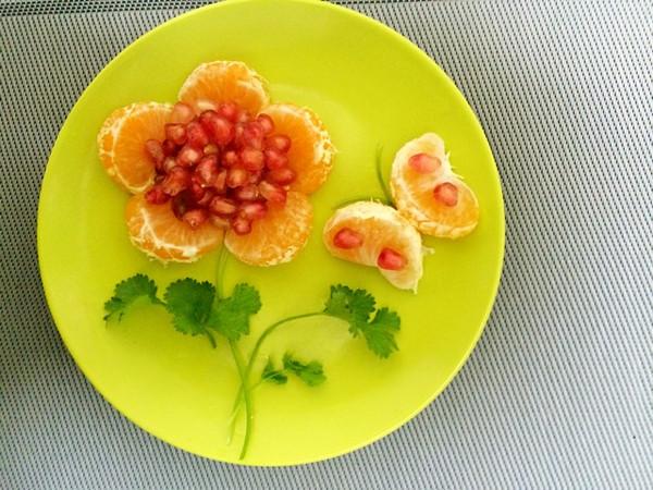 简单的摆盘,会让食物增色不少,自然食欲大开