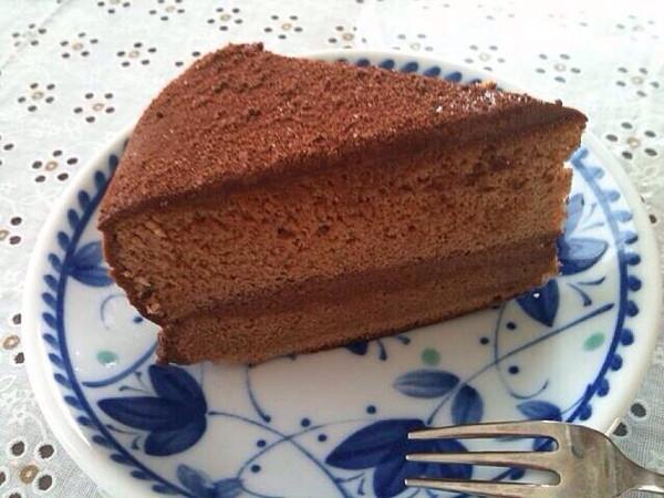 小动物粉做的可可巧克力蛋糕的做法