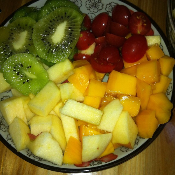 取昵称好难做的简单水果拼盘的做法 豆果美食