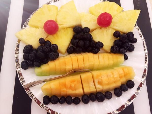 鳕娃娃的水果餐做法的学习成果照