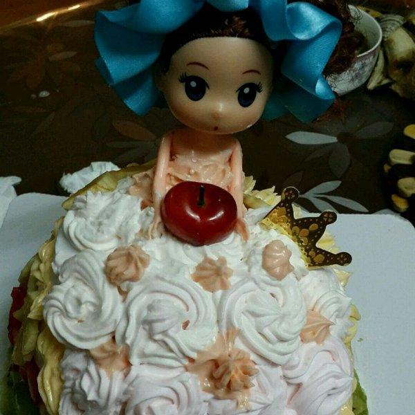 杨颖颖change的娃娃蛋糕做法的学习成果照